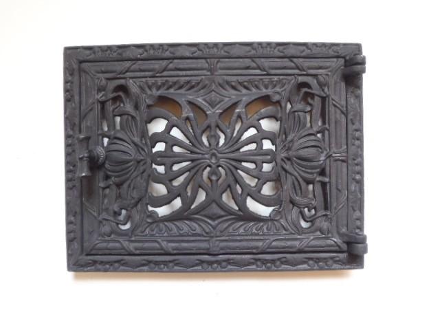 drzwiczki żeliwne ażurowe prostokątne jednoskrzydłowe 00026