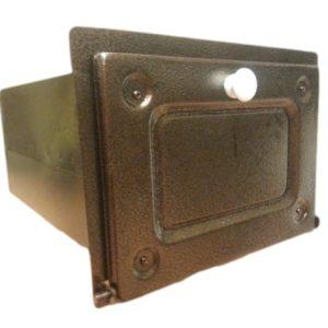 piekarnik stalowy front miedź antyczna 00149