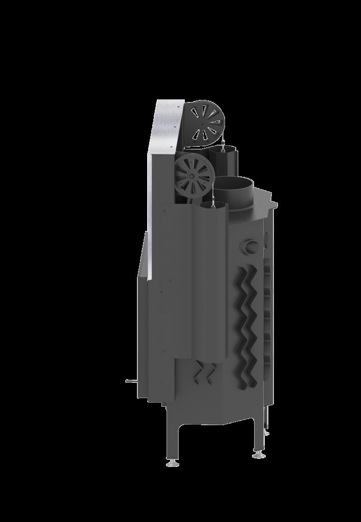 AL11G.H ALBERO 11 kW gilotyna poziomy wkład kominkowy0003