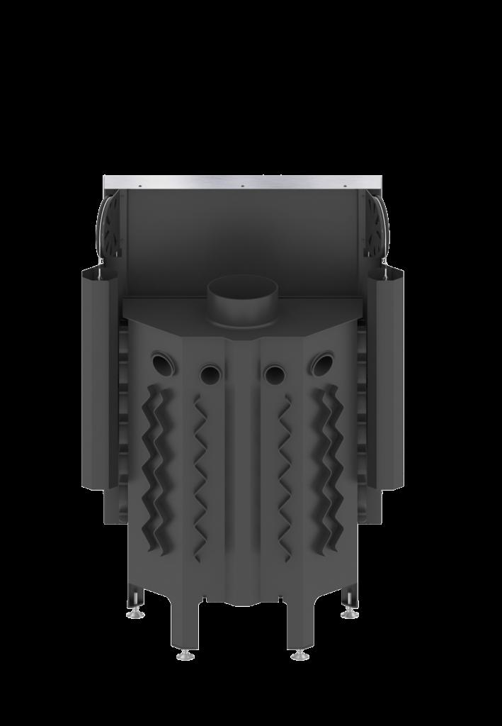 AL11G.H ALBERO 11 kW gilotyna poziomy wkład kominkowy0005