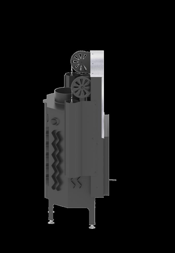 AL11G.H ALBERO 11 kW gilotyna poziomy wkład kominkowy0007