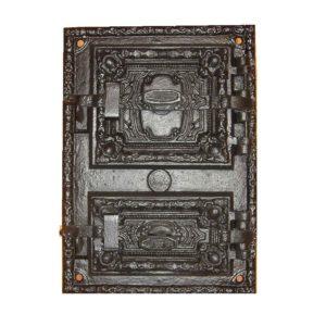 drzwiczki,żeliwne,pełne,piecowe,do pieca,z popielnikiem 00021