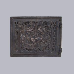 drzwiczki żeliwne ażurowe prostokątne 00192
