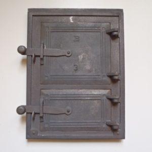 drzwiczki żeliwne kuchenne duże 00017