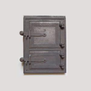drzwiczki żeliwne kuchenne małe 00013