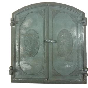 drzwiczki,żeliwne,półokrągłe,do wędzarni, wędzarniowe 00186