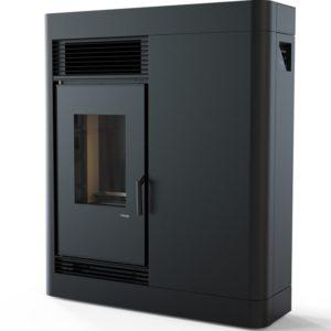 piec pelletowy czarny 9 kW defro home