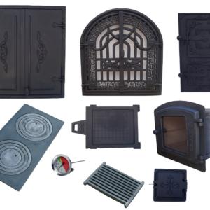 Zestaw do wędzarni, drzwiczki do wędzarni, zestaw wędzarniczy, drzwiczki żeliwne,akcesoria, piekarnik żeliwny, kielce, zdunmar